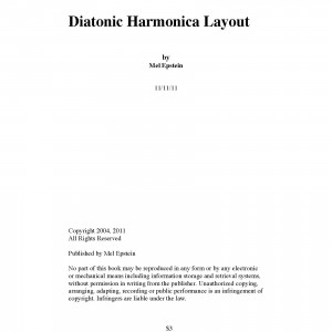 Diatonic Harmonica Lay Cov
