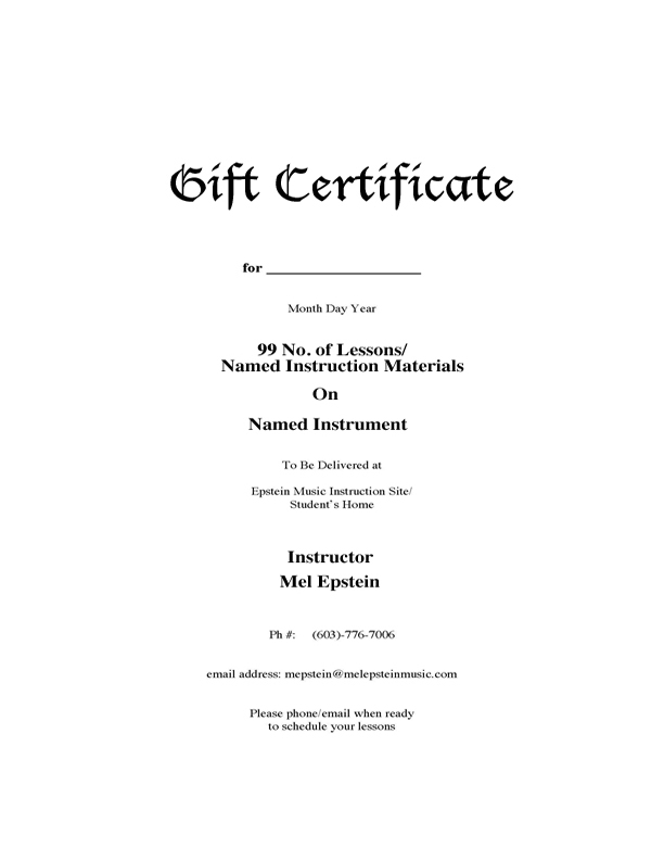 Gift Certificate Form Edit copy